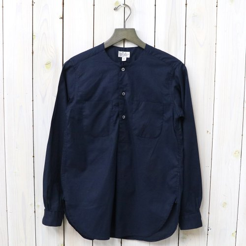 『Irving Shirt-High Count Cotton Lawn』(Dk.Navy)