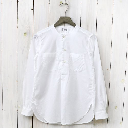 『Irving Shirt-High Count Cotton Lawn』(White)