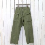 orSlow『2POCKET CARGO PANTS』(GREEN USED)