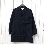 SASSAFRAS『WHOLE LEAF COAT(T/C WEATHER)』(NAVY)