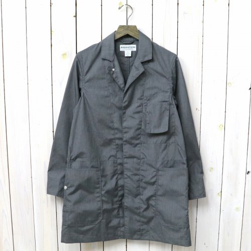『WHOLE LEAF COAT(T/C WEATHER)』(HEATHER GRAY)