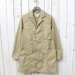 SASSAFRAS『WHOLE LEAF COAT(T/C WEATHER)』(BEIGE)
