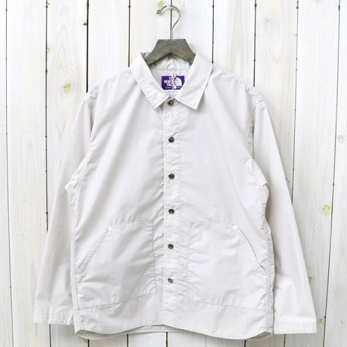 『Mountain Wind Shirts Jacket』(Ecru)
