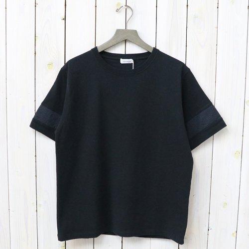 『H/S Crew Neck Shirt』(Black)