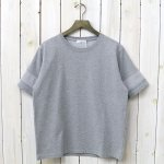 nanamica『H/S Crew Neck Shirt』(Heather Gray)