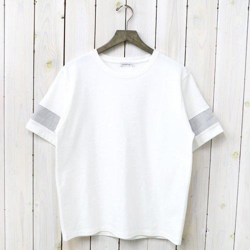 『H/S Crew Neck Shirt』(White)