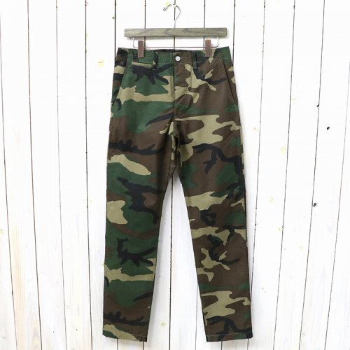 『SPRAYER PANTS(WEEDS POPLIN)』(WOODLAND)