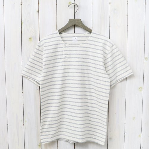『MARNIER HENLY NECK S/S』(Natural/Gray)