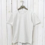 ANATOMICA『MARNIER HENLY NECK S/S』(Natural/Gray)