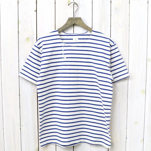 『MARNIER HENLY NECK S/S』(Natural/Royal)