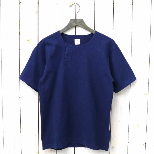 『MARNIER HENLY NECK S/S INDIGO』