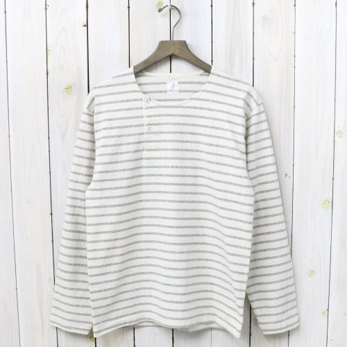 『MARNIER HENLY NECK L/S』(Natural/Gray)