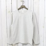 ANATOMICA『MARNIER HENLY NECK L/S』(Natural/Gray)