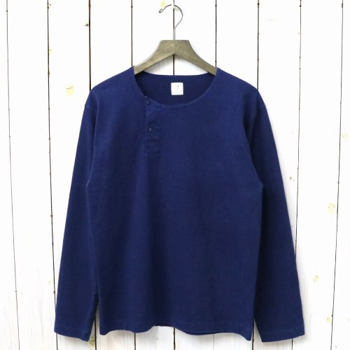 MARNIER HENLY NECK L/S INDIGO