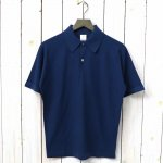 【SALE特価45%off】ANATOMICA『KNIT POLO S/S』(Indigo)