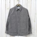 SASSAFRAS『FEEL SUN SHIRT(PLAIN WEAVE)』(GRAY)