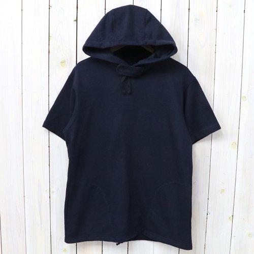 『Short Sleeve Hoody-French Terry』(Dk.Navy)