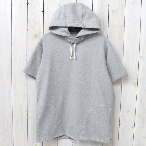 『Short Sleeve Hoody-French Terry』(H.Grey)