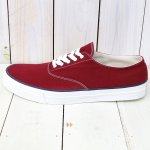 ANATOMICA『WAKOUWA DECK SHOES LOW WHITE SOLE』(BURGUNDY)
