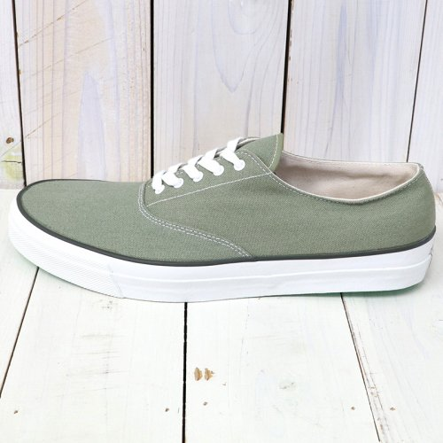 『WAKOUWA DECK SHOES LOW WHITE SOLE』(SAGE)