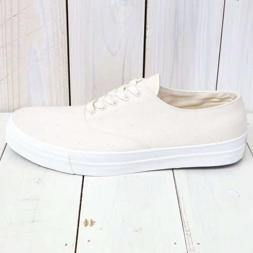 『WAKOUWA DECK SHOES LOW WHITE SOLE』(NATURAL)