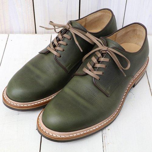 『2111 プレーントゥオックスフォードシューズ』(Green)