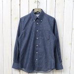 INDIVIDUALIZED SHIRTS『POLKA DOTS』(INDIGO)