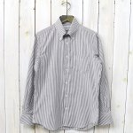 INDIVIDUALIZED SHIRTS『OX STRIPE』(BROWN)