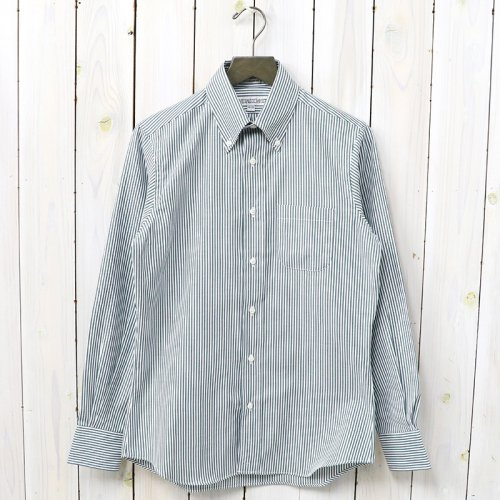INDIVIDUALIZED SHIRTS『OX STRIPE』(GREEN)