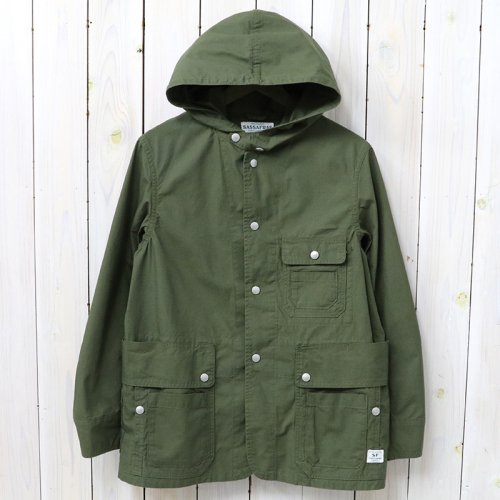 『SEEDS CARRY BUD JACKET(RIPSTOP)』(OLIVE)