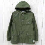 SASSAFRAS『SEEDS CARRY BUD JACKET(RIPSTOP)』(OLIVE)