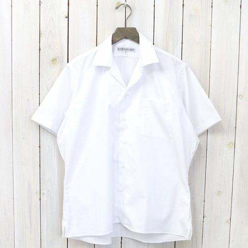 『POPLIN(CAMP COLLAR S/S)』(WHITE)