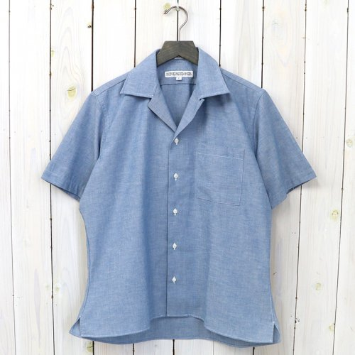 『HERITAGE CHAMBRAY(CAMP COLLAR S/S)』(BLUE)