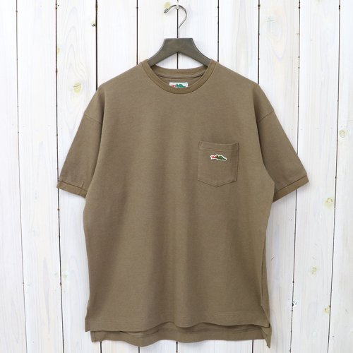 Braggin' Dragon『POCKET TEE』(BROWN)