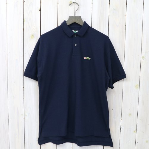 『POLO SHIRTS』(NAVY)