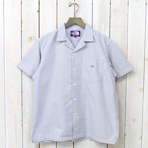 『Cotton Polyester OX H/S Shirt』(Gray)