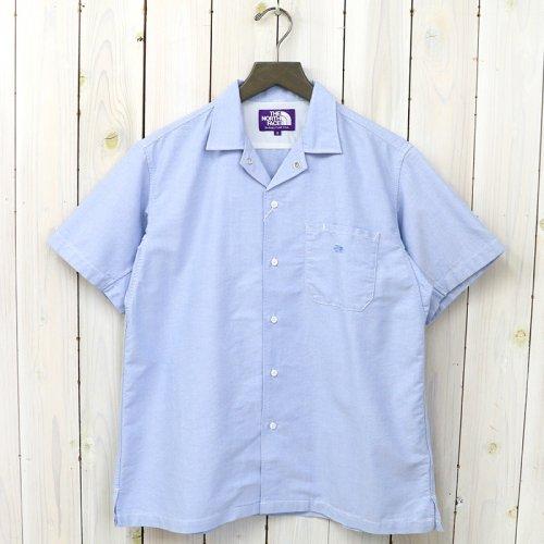 『Cotton Polyester OX H/S Shirt』(Sax)