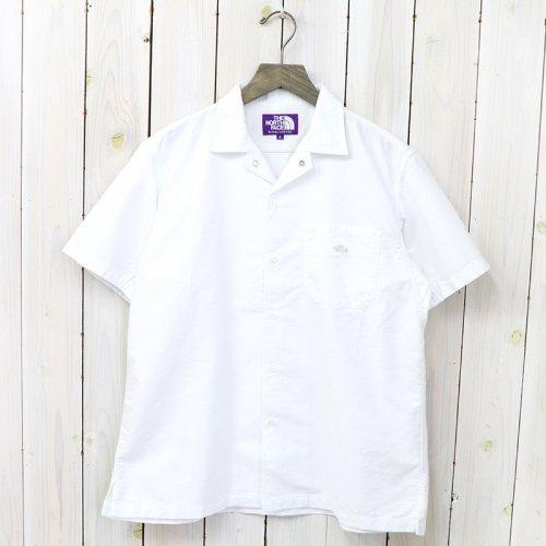 『Cotton Polyester OX H/S Shirt』(White)