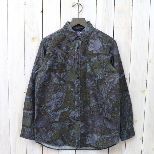 『Tree Camo Print B.D Shirt』(Navy)