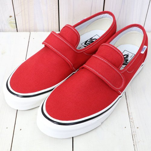 『SLIP-ON 47 V DX』((ANAHEIM FACTORY)OG RED)