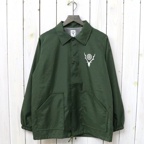 『Coach Jacket-Nylon Taffeta/Acrylic Coating』(Green)