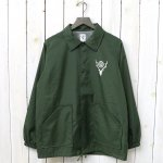 SOUTH2 WEST8『Coach Jacket-Nylon Taffeta/Acrylic Coating』(Green)