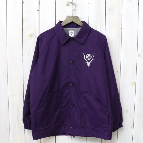 『Coach Jacket-Nylon Taffeta/Acrylic Coating』(Purple)