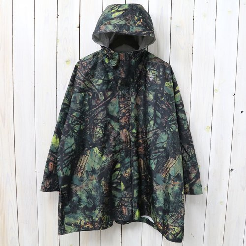 『River Trek Zipped Poncho-Poly Cloth/Water』(Real Tree)