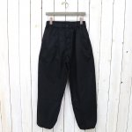ENGINEERED GARMENTS『New Balloon Pant-High Count Twill』(Black)