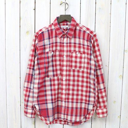 『Work Shirt-Big Plaid Madras』(Red/Lt.Blue)
