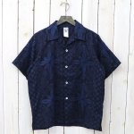 CORONA『FRENCH CAFFE SHIRT S/S』(NAVY/STEEL BLUE)