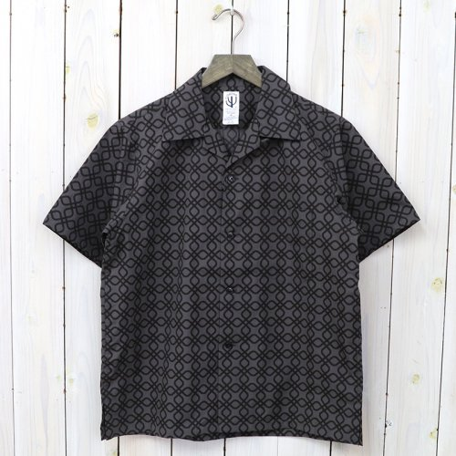 『FRENCH CAFFE SHIRT S/S』(CHARCOAL/DARK CHARCOAL)