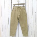 orSlow『EASY PANTS』(KHAKI)