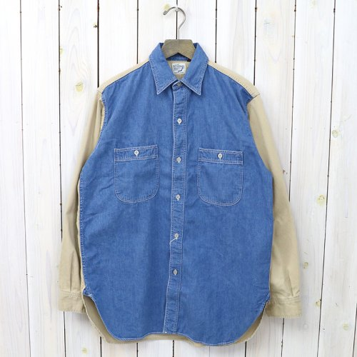 『VINTAGE FIT WORK SHIRTS』(CHINO×DENIM)